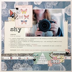 LOAD21 Shy (girl231t) Tags: 2017 paper scrapbook layout 12x12layout load load517 load21