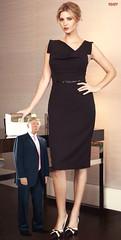 Tiny Trump and Ivanka (iggy62pop2) Tags: giantess shrinkingman trump tallwoman tiny minigiantess sexy upskirt legs president pretty funny daughter babe