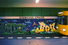 Eisenacher Straße (Jack R Lewis) Tags: ubahn underground tube city berlin urban schöneberg