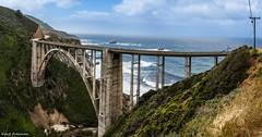 Bixby Creek Bridge - Panorama (Kent Freeman) Tags: california 1 highway bridge bixby usm l f4 ef1740mm iii mark 5d eos canon