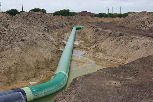 From flickr.com: Pipeline Construction {MID-136453}