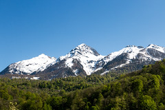 Spring In The Mountains (DVchigarev) Tags: mountains sochi russia spring may snow sky landscape 24105 l usm canon