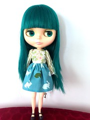 Ava wearing Plasticfashion