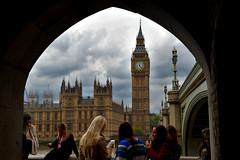 Westminster Bridge & The Parliament, London (Manoo Mistry) Tags: london england uk nikon nikond5500body tamron18270mmzoom tamron westminsterbridge bridge parliament bigben