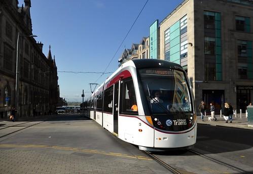 Edinburgh Tram 254 St Andrew Square