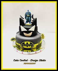Batman Cake #firstbrthday #designercake #delhi #fondant #themed #kidscake #batman #cartoon #kids #newdelhi #southdelhi #cakedelivery #order #cakecentral #designer #superhero #noida #gurgaon (Cake Central-Design Studio) Tags: firstbrthday designercake delhi fondant themed kidscake