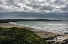 Broad Haven - Pembrokeshire (Andy.Gocher) Tags: andygocher iphone 6s uk europe wales southwales westwales pembrokeshire coastalpath broadhaven beach coast coastline sky clouds sea water landscape seascape