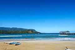 Kaui 060 DSC03432 (cpburt) Tags: hanalei kauai hanaleipier surfboard longboard surfing hawaii