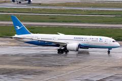 Xiamen Airlines   Boeing 787-8   B-2769   Shanghai Hongqiao (Dennis HKG) Tags: xiamen xiamenairlines cxa mf boeing 787 7878 boeing787 boeing7878 dreamliner aircraft airplane airport plane planespotting shanghai hongqiao zsss sha b2769 skyteam canon 7d 100400