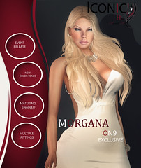 ICONIC_MORGANA (Neveah Niu /The ICONIC Owner) Tags: on9 neveahniu iconic secondlife cynful photoshop blender zbrush meshhair hair sl