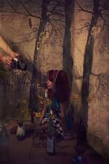 Ruth's Adventures in Monderland (bransilva) Tags: wonderland alice ruths adventures magic fantasy history tv alicia maravillas fantasia disney brandsilva bran brand silva art work cianotipia fotografia digital mexicana rosa cliche chantaje imaginación imagination mexican conceptual universo universe existencial existencialist arbol tree trip viaje sabiduria lsd drugs