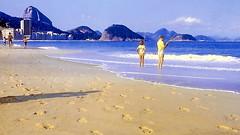 Rio de Janeiro Copacabana Beach (gerard eder) Tags: beach playa strand copacabana riodejaneiro pãodeaçucar sugarloaf footprints atlantic atlanticocean atlántico world travel reise viajes america southamerica südamerika sudamérica sudamerica brasil brasilien brazil city ciudades städte panorama landscape landschaft paisajes outdoor