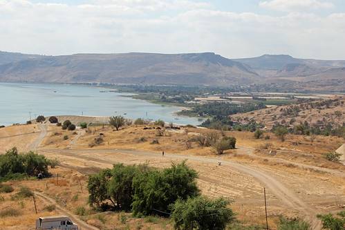 Sea of Galilee from the Beatitude Monastery