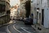 The streets of Lisbon, Portugal. (MFMarcelo) Tags: lisboa portugal lisbon street architecture canon eos 5d 24105 stones viela rail car house