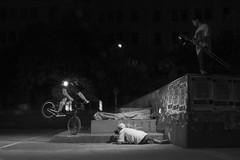 Julio Corpa - Nose Bonk (KikoBlasco) Tags: nose bonk bmx street night flash bum plaza cordoba bernardo wachon g light barrio bici bicicleta buenos aires argentina foto