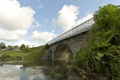 Andard's bridge (xabi argazkigintza) Tags: pont ardoise authion brainsurlauthion ciel