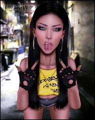 # 550 News from ::Cerise:: & Toxic Bish ♥ (Mɪss Dɪᴀᴢ) Tags: cerise little bones toxic bish vista bento hands ryca codex studio exposure catwa head catya maitreya mesh body secondlife sl fashion style