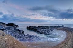 Kissing Strangers (pauldunn52) Tags: ogmore by sea sunset long exposure beach sand rocks drain glamorgan heritage coast wales