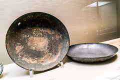Large Silver Bowl. Ritual Object Used to Consecrate Site of Kohfukuji, Nara period, 8th century (Anita Pravits) Tags: honkan japan japanesegallery museum nihon nippon tnm tokio tokyo tokyonationalmuseum bowl schale naraperiod 8thcentury 8jahrhundert