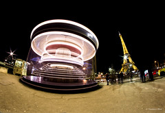 LightPainting - Tour Eiffel (xaviertourtois) Tags: paris tourtoisxphot toureiffel architecture villelumière longpause light lightpainting fisheye painting street france batiment canon 6d nuit night