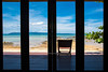 Terrace with Sea View and Blue Sky (baddoguy) Tags: architecturalcolumn architecture backgrounds blue buildingexterior buildingterrace builtstructure coastline colorimage constructionframe creativity design door facade fourobjects frame horizon horizontal hotel indoors island locallandmark loneliness lookingthroughwindow nopeople oceania outdoorchair outdoors pacificislands photography rectangle relaxation residentialbuilding roof scenicsnature sea seascape secretbeach singleobject sky summer sunny thailand tourism touristresort tratprovince travel traveldestinations tropicalclimate unusualangle vacations viewpoint villa wallpaper window woodmaterial