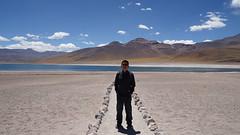 Me in Laguna Miscanti (hanming_huang) Tags: chile lagunamiscanti