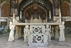 Teheran, Throne at Golestan Palace, Iran (Sekitar) Tags: iran persia tehran golestan palace