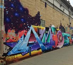 Amuse Me by Amuse 126 (wiredforlego) Tags: graffiti mural streetart urbanart aerosolart logansquare chicago illinois ord amuse126