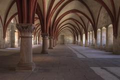 Kloster Eberbach - Dormitorium 4 (Reiner Grasses) Tags: kloster eberbach dormitorium schlafsaal mönche name der rose film sean connery