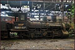 326 Class locomotive @ Istvantelek budapest (Loco Steve) Tags: budapest istvantelek rusty abandoned steam railway hungary mav 326267