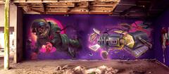 CCFS x F4 (FORK4 / AFX / SW307 / UBS) Tags: fork fork4 fatheat heat cfs afx hungary budapest molotow spray graffiti astronaut