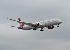 G-VOWS B787 Virgin Atlantic at Heathrow 22-04-17 (Pete Altoft) Tags: airlines aircraft airport atlantic virgin boeing b787 dreamliner landing london heathrow heathrowairport uk