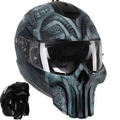 Punisher Modular Mot (BikerKarl2013) Tags: punisher modular mot badass motorcycle helmet store biker stuff motorcycles