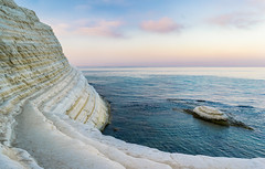 A slice of Sicily: Scala dei Turchi (hajnalkaberenyi-kiss) Tags: sicily cliffs sunrise summer beach chalk scala dei turchi travel
