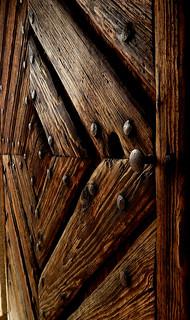 Wooden entrance door / Haustür aus Holz