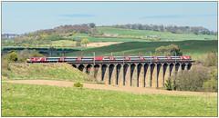 Lesbury Railway Viaduct (Blaydon52C) Tags: northumberland northeast ecml eastcoast virgintrains virgin railway rail railways trains train transport class91 91132 viaduct viaducts bridge robertstephenson ner lner britishrail britishrailways spring alnmouth lesbury alnwick