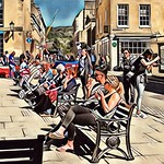 Abbey Square, Bath. thumbnail