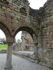 P1110859 Basingwerk Abbey, Holywell, Wales (32) (archaeologist_d) Tags: wales cistercians 12thcentury basingwerkabbey holywell abatydinasbasing