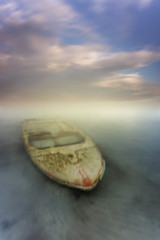 Hundida (canonixus1) Tags: hundida barca atardecer tecnica cielo montaje canonixus1