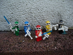 Combat Squad LechRanger (Śląski Hutas) Tags: lego moc bricks minifigures poland polska hungary magyar sentai toku rangers