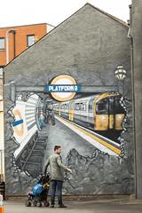 graffiti (Alan Reevee) Tags: platform 8 london underground wall gavel drawing artwork mural geotag 24105mm canon graffitti banksy