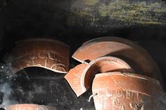 potscherven (zaqina) Tags: archeologie archeologische vondsten scherven domunder domplein dom utrecht