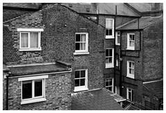 . (madras91) Tags: nb bw blackandwhite noiretblanc monochrome mono london londres leica m mtyp240 m240 35mm summarit summarit35mmf25 street streetphotography architecture graphic terraced houses homes housing
