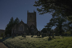 North Bovey 6 (Anna_Walls) Tags: buildingsstructures churches dartmoor devon moonlight night northbovey places timesofday