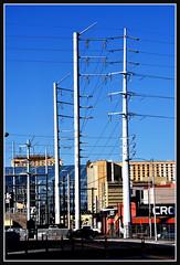 Pole (VegasBnR) Tags: nikon sigma city vegas vegasbnr lasvegas main downtown telegragh powerlines power powerpole pole poles nevada
