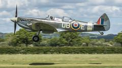 Spitfire T9 NH341  G-CICK  (EXPLORE) (colper) Tags: 100400 2seat canon7dmk2 elizabeth gcick headcorn nh341 spitfiret9
