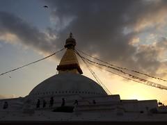 IMG_4555 (RubyWhatever) Tags: kathmandu nepal bodnath sunset