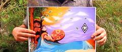 witrampürramgekey ta newen ñuke mapu mew (Felipe Smides) Tags: mapuche wallmapu lafkenmapu lafken machi mural felipesmides smides