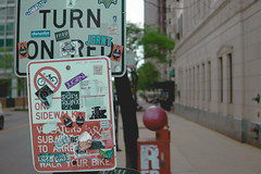 Chicago 2017 (RW Sinclair) Tags: 016 2017 30mm chicago contemporary dc dn ilce6000 illinois may sigma sony spring a6000 alpha csc digital f14 milc mirrorless street urban sign stickers sticker tag grafitti