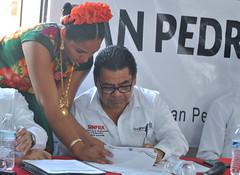 San Pedro Comitancillo pide ser incluido en la Zona Económica Especial